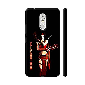 Colorpur Electra On Black Artwork On Lenovo K6 Note Cover (Designer Mobile Back Case) | Artist: Divakar Vikramjeet Singh