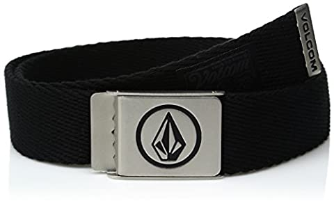 Volcom Herren Circle Web Gürtel, Stoney Black, One Size