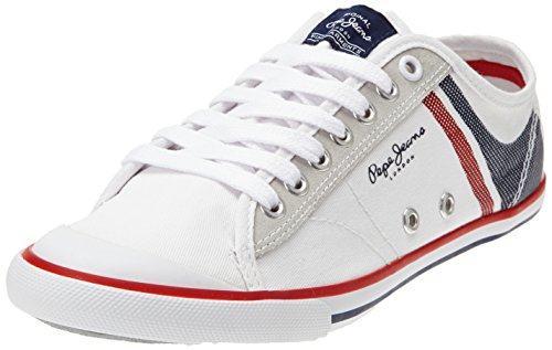 Pepe Jeans Tennis Print, Baskets mode homme