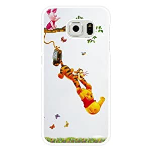Samsung Galaxy S6 Case, Customized Disney Tigger White Hard Shell Samsung Galaxy S6 Case, Tigger Galaxy S6 Case(Not Fit for Galaxy S6 Edge)