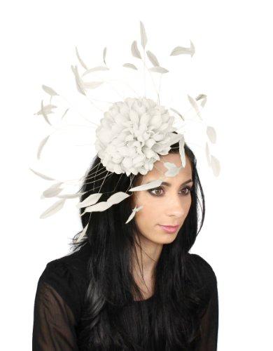 Hats By Cressida - Capeline -  Femme Blanc - Blanc