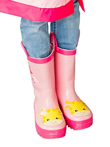 Bigood Unisex Baby Kid Animal Patterned Waterproof Rainboot Rain Boots