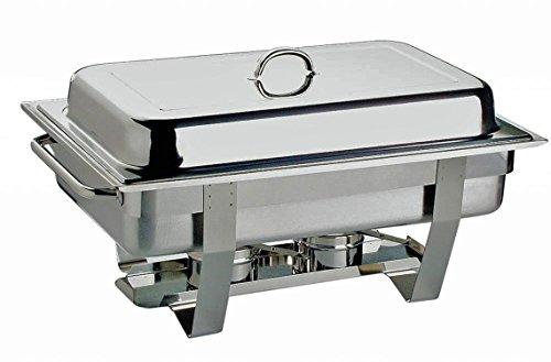 APS GmbH Chafing Dish Set calentador de alimentos de acero inoxidable