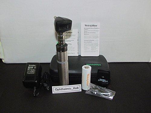 Welch Allyn 3,5 V Halógeno HPX Diagnóstico Otoscopio con mango de níquel-cadmio
