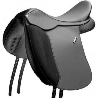 Waldhausen Wintec 500 Dressur CAIR Wide schwarz, 16, 5\'/42 cm, schwarz,