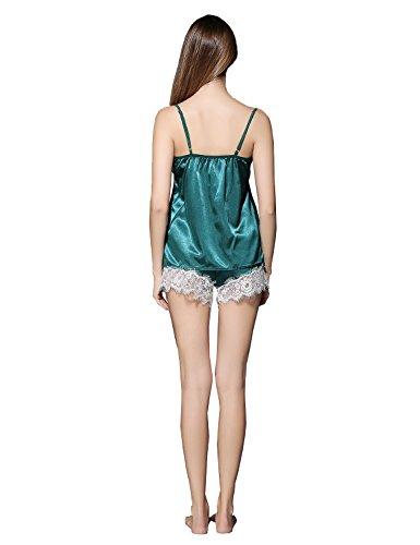 YQM - Ensemble de pyjama - Femme green