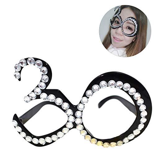 Zoylink Party Brillengestell Brillengestell Creative Nummer 30 Brillengestell