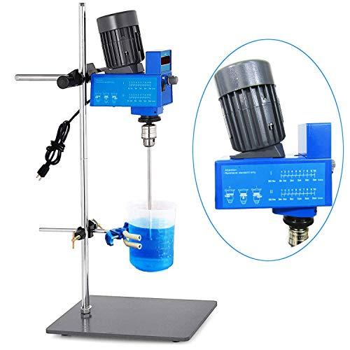 ZHAODALEI Laborrührer-Mischer Lab Digitaler Elektromischer Rührer Labormischer Leistungsstark 20L 10000 mPas 2000 RPM für das Rühren von Flüssigkeiten (110 V / 220 V),220V