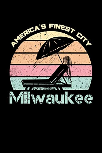 Milwaukee America's Finest City: Milwaukee Journal (Wisconsin Gifts for Women) Milwaukee Wallet