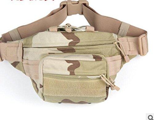 ZYT Im freien Pocket Armee Männer und Frauen verloren taktische Brust Taschen. wasserdichte Tasche Reisen und Freizeit. Reitsport wolf brown