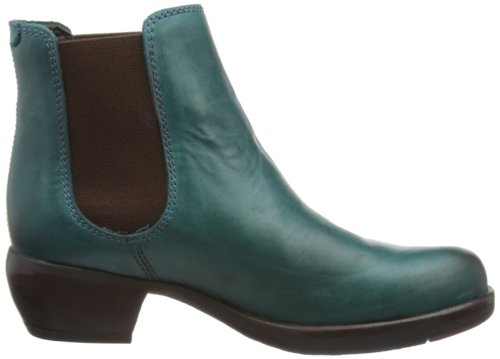 Fly London Make Bottes western pour femme Turquoise - Petrol/Türkis