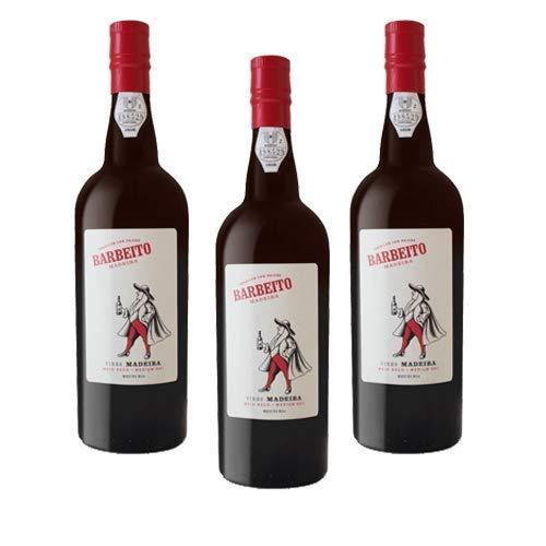 Madeirawein Barbeito Medium Dry - Dessertwein - 3 Flaschen