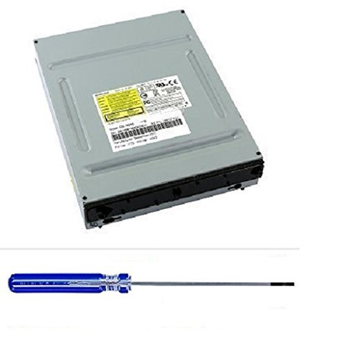 Original Microsoft Xbox 360Slim DVD-Laufwerk dg-16d4s dg-16d5s Ersatz Teil für Xbox 360S mit Öffnung Werkzeug - Konsole-einheit Xbox 360