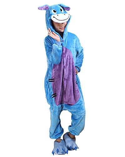 Molly unisex bambini pigiama fumetto halloween costume cosplay asino 105