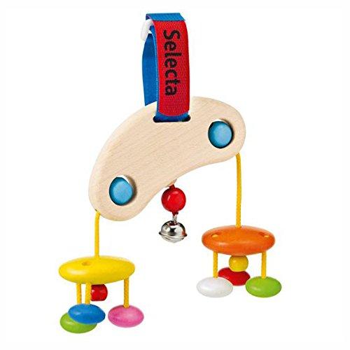 Kinderwagen-Spielzeug SELECTA Minitrapez Zippelzappel aus Holz