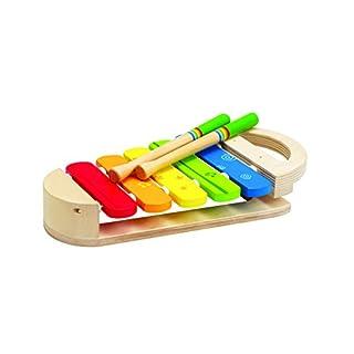 Hape E0302 E0302-Regenbogen-Xylophon, Natur-Multi, OneSize