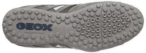 Geox Uomo Snake K, Baskets Basses Homme Gris (C9007)