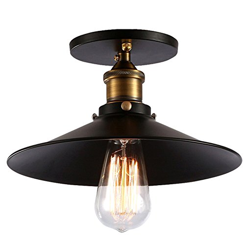 Fuloon Retro Vintage Industrial Light Shade Country Style