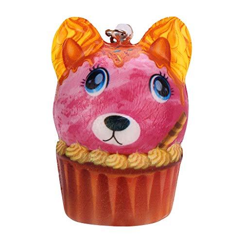 CHshe®--Squishy Spielzeug, Squishies Packung Anti-Druck-Helfer-Pressung-Spielzeug Kawaii Anti-Stress-Weiche Langsam Rising Duft Spielzeug-Geschenk für Kinder, Erwachsene (Disney-charme Lot)