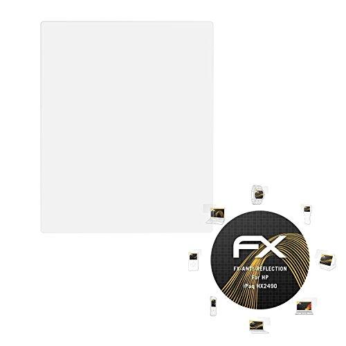 atFolix Panzerfolie kompatibel mit HP iPaq HX2490 Schutzfolie, entspiegelnde und stoßdämpfende FX Folie (3X) -