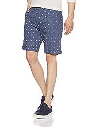 Symbol Men's Regular Fit Cotton Shorts