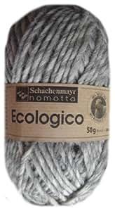 Ecologico Farbe: 00082 natur-mittelgrau moul. 80 m 10x50 g Coats # 980738700082 NEU in OVP