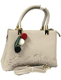 Ladyfinger_handbags Ladies Handbag Off White Colour Luxury Quality