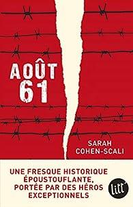 Août 61 par Sarah Cohen-Scali