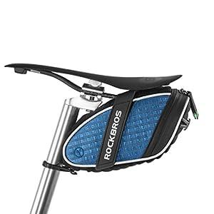 Selas de selim de bicicleta ROCKBROS impermeáveis sacos de assento na chuva leve