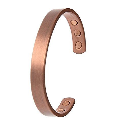 bracelet-avec-aimants-magnetique-en-pur-cuivre-lisse-16-cm