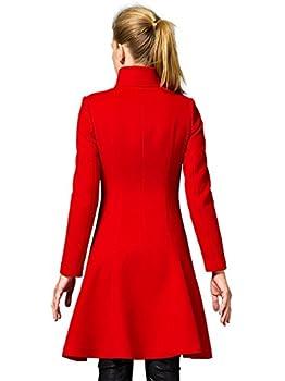 Shmily Girl Femme Manteau Wool Coat