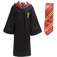 Cape de Déguisement Costume de Déguisement Collège avec Cravate pour Enfants ou Adultes