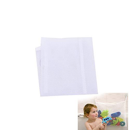 Bad Speicher (Naisicatar 1pc Mesh-Bad-Spielzeug-Lagerung mit starken Saugnäpfen Baby-Bad-Spielzeug-Speicher-Kleinkindern Großer Spielzeug-Organisator-Beutel für Jungs und Mädchen und Dusche Caddy Nizza Geschenk)