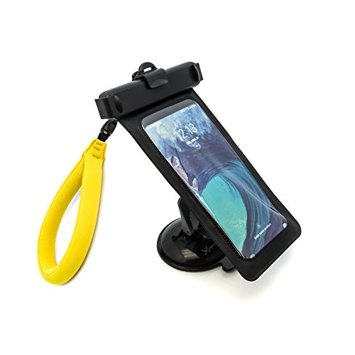 Xventure Griplox Waterproof Suction Mount Phone Holder for Marine Boats iPhone X 8 Plus 7 SE 6s 6 5s 5 Samsung Galaxy S9 S8 S7 S6 S5 Note Google Pixel 2 XL LG Nexus Sony Nokia (XV1-863-2)
