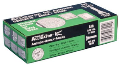 MECANICO PLASTICO CORP 100PK 5/16DE ANCLAJES DE ANCLAJE AF813102PARA MAMPOSTERIA DROP-IN