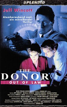 Bild von The Donor - Out of Law [VHS]