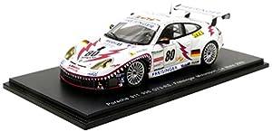 Spark-996-GT3RS Le Mans 2002Porsche, S5515, Blanco, en Miniatura (Escala 1/43