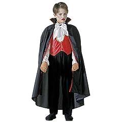 Idea Regalo - Costume Bambino Vampiro Taglia 140 cm / 8-10 Anni