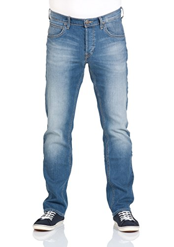 Lee Herren Jeans Daren Regular Slim - Blau - Quiet Hour - Sky Blue - Indigo Worn - Dark Worn - Grey Worn - Worn Blue - Caribbean Ocean -