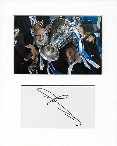 Chelsea Football Club–Roman Abramovitch authentique à la main signé autographe Aftal COA