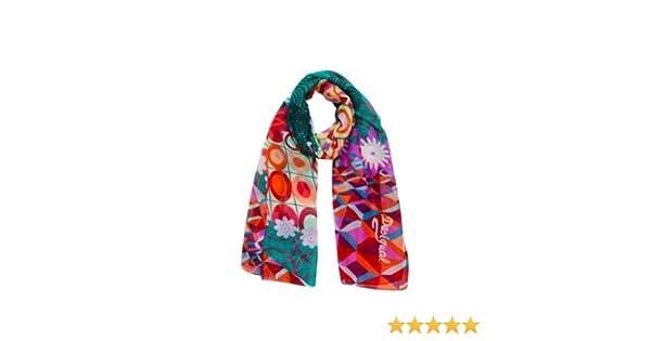 97d09d8caeb Desigual - annelise - foulard - imprimé - femme  Amazon.fr  Vêtements et  accessoires