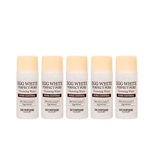 egg pore [SKINFOOD] Egg White Perfect Pore Cleansing Water SAMPLE 20ml x 5ea