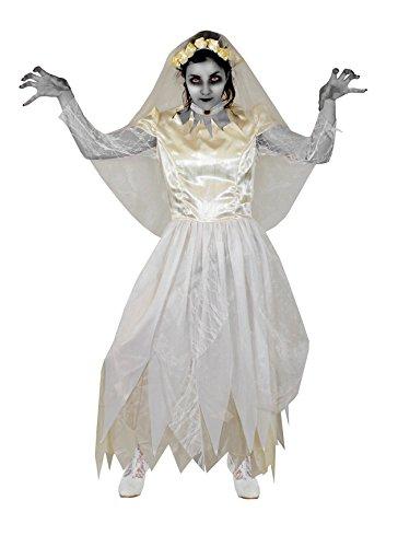 Frankensteins Erwachsene Braut Kostüm Für - Geister Braut KOSTÜM VERKLEIDUNG Zombie Vampire Braut Halloween Karneval Fasching =IN 5 VERSCHIEDENEN GRÖßEN =Large