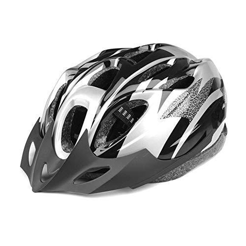 DAZISEN Casco Ultraligero para Adultos - Hombres y Mujeres Adolescentes Deportes Al Aire Libre Montar en Bicicleta Patinaje Casco de Seguridad