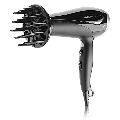 Arzum AR 576 Hairstar, Haartrockner 2200 Watt 3 Heizstufen, 2 Gebläsestufen schw -