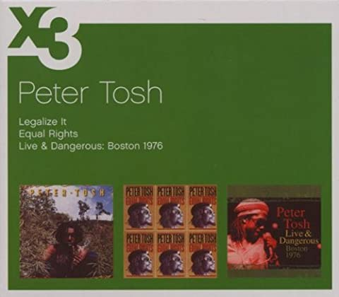 Legalize It/Equal Rights/Live in Boston by Peter Tosh