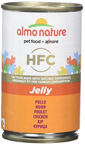 Almo nature hfc jelly–pollo (confezione da 24x 140g lattine)