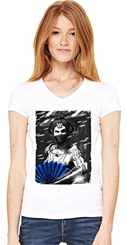 Princess Kitana Damen V-Ausschnitt T-Shirt XX-Large