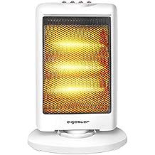 Aigostar Sun 33LCH – Estufa eléctrica de cuarzo con 3 niveles de potencia de 1200W Diseño