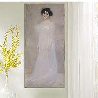 ayuxin Oil Print Canvas Wall Art Decor Pictures Serena Emiliemargaret Stonborough Wittgenstein Portrait By Gustav Klimt Art